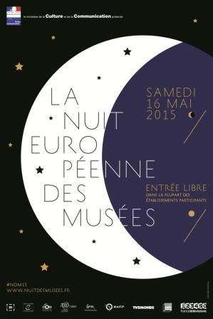 11e édition de la Nuit Européenne des Musées samedi  16 mai 2015