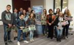 """La remise des prix aux participants du concours vidéo """"La Corrèze que j'aime"""""""