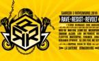 03/11/18 - RAVE | RESIST | REVOLT - LA LAITERIE - STRASBOURG – 2 scènes