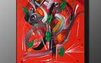 Martine BELFODIL Artiste Peintre expose à la MJC deTaverny
