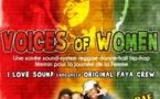 soiré - Journée de la Femme - Women Voices - I LOVE SOUND + Original Faya Crew