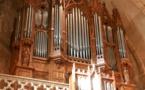 Abbatiale de Foix, concert orgue et chant, Elisabeth AMALRIC et Philippe FRANCOIS