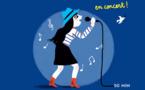 Nomi-Nomi à voir au Théâtre Lepic pour son spectacle Dans ma ville