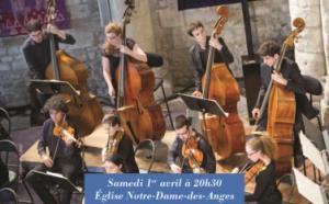BRAVO - LAURENCE EQUILBEY dirige le Jeune Orchestre de l'Abbaye aux Dames -