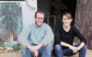 Rencontre à la résidence avec Jérémy Liron et Aurore Pallet