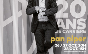 Giovanni Mirabassi fête 20 ans de jazz au Pan Piper les 26/27/28 octobre