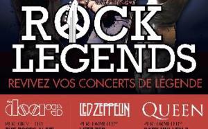 Rock Legends en tournée en France en 2019 avec Led Zeppelin, The Doors