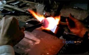 Artisanat - Verrier à la flamme