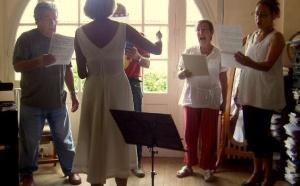 Stage de chant choral à Montmorillon