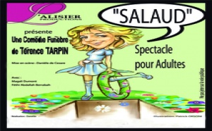 SALAUD de Térence Tarpin, comédie funèbre.