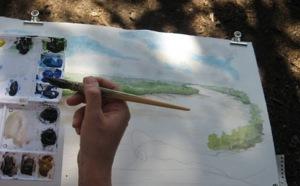 Stage dessin aquarelle au Maroc en avril 2013