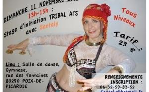 Stages Danses Orientales style Tribal ATS dimanche 11 novembre avec Santaly à Poix-de-Picardie