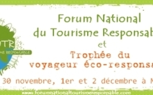 Le Forum National du Tourisme Responsable. Ensemble, parlons d'écovolontariat !