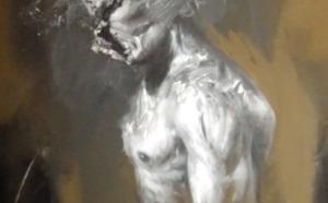 Benjamin Carbonne peindra ses grands formats au sein de la Galerie