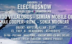 Festival ElectroSnow | Ricardo Villalobos, Simian Mobile Disco, Rone...