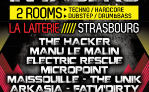 06/04/13 BLACKOUT INVADERS@Strasbourg w/ THE HACKER, MANU LE MALIN…