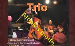 Patrick Mullié Trio: Monk's mode