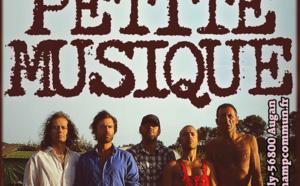 Jeudi 21 Août à 21h au Champ Commun - Folk rock avec le groupe Petite Musique