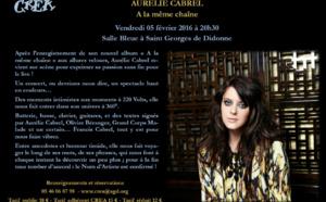 Concert d'Aurélie Cabrel