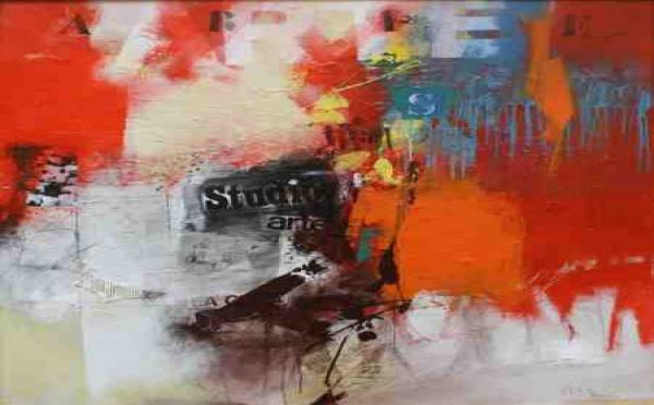 La galerie Bouillon d'art présente les œuvres de Michel BARDIN