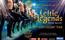 Celtic Legends revient en tournée anniversaire en France en 2017