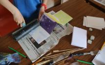 Atelier d'initiation à la gravure avec Marianne Tixeuil et Jean-Marc Siméonin