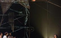 Machine de cirque au théâtre de Villefranche
