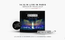 Ibrahim Maalouf sort son live mythique : 14.12.16 - Live In Paris