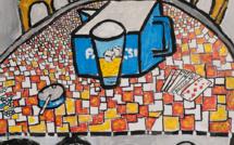 Inauguration de l'exposition de peintures de K.O.P. / 15h : Performance artistique publique