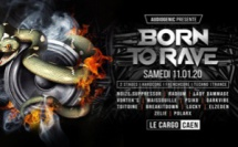 DJ CONTEST | BORN TO RAVE | LYON (18.01.2020)