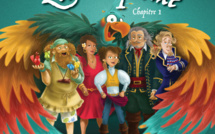Aurélie Cabrel imagine le conte musical Zélie la pirate