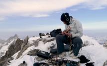 Kwoon en session live au sommet de l'Aiguille du Triolet