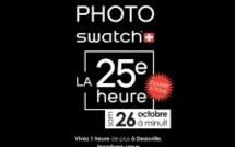 CONCOURS PHOTO SWATCH DE LA 25E HEURE à Deauville